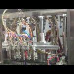 máquina automática de llenado de aceite de oliva para botellas de vidrio