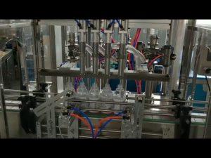 máquina automática de llenado de detergente de alcohol desinfectante de manos