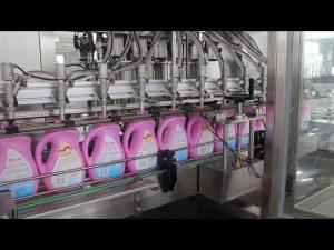 máquina automática de llenado de botellas de champú de aceite de oliva, aceite de oliva, botella de detergente