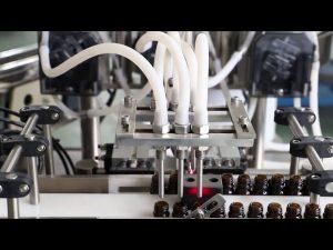 Máquina de llenado y tapado de aceite de oliva de 120 ml