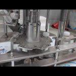 taponadora rotativa automática de botella de plástico de una cabeza