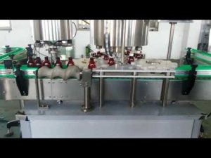 máquina de tapado de tapas de aluminio completamente automática