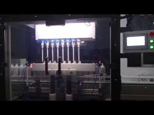 máquina de llenado de líquidos de tocador