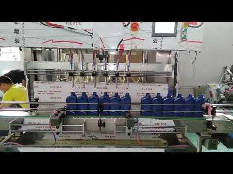 Máquina automática de llenado de aceite de motor de lubricación de 5000 ml de China para la industria automotriz