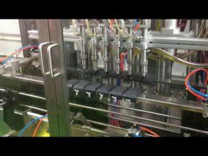 plc control automático de pistón de aceite de oliva máquina de llenado de llenado