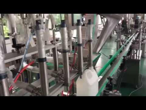 precio de línea de llenado de pistón electrónico de aceite lubricante personalizado