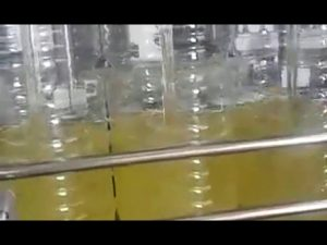 Máquina automática de envasado de aceite comestible de llenado de botellas