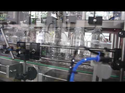 máquina automática de llenado de líquidos en gel desinfectante para manos