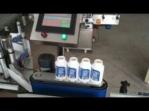 auto etiqueta autoadhesiva redonda máquina de etiquetado de la medicina