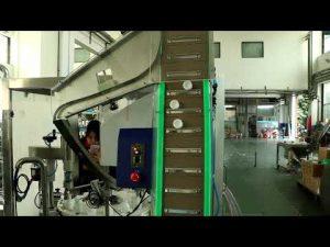 máquina de llenado de miel, líquido y desinfección médica automática